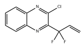 2-Chloro-3-(11-difluoroallyl)quinoxaline Chemical Structure