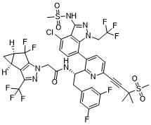 Lenacapavir Chemical Structure