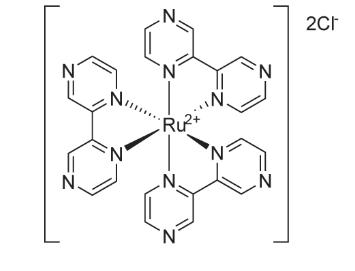 Tris (2,2'-bipyrazine) ruthenium dihydrochloride 结构式