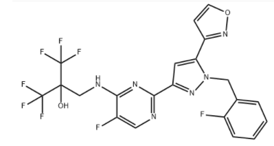 Praliciguat Chemical Structure