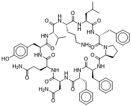 Tyrocidine Chemical Structure