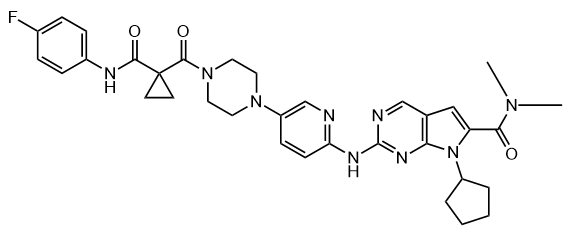 CDK4 inhibitor compound 12 Chemical Structure