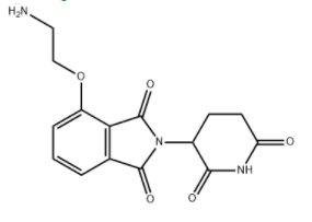 Thalidomide-linker 6 Chemical Structure