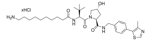 (S,R,S)-AHPC-C9-NH2 hydrochloride Chemical Structure
