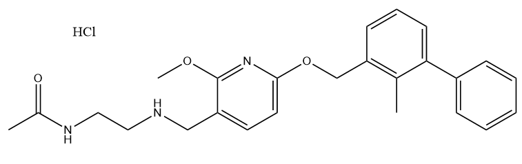 BMS202 HCl 结构式