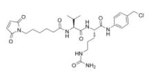 MC-VAL-CIT-PAB-CL Chemical Structure