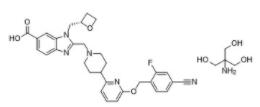 PF-06882961 Tris 结构式