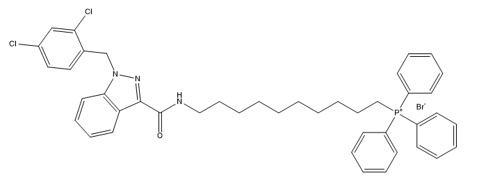 Mito-LND 结构式