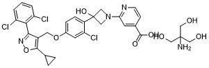 Cilofexor tromethamine 结构式