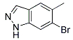 6-Bromo-5-methyl-1H-indazole Chemical Structure