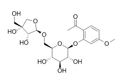 Apiopaeonoside Chemical Structure