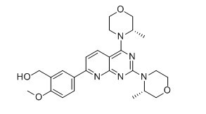 AZD8055 Chemical Structure