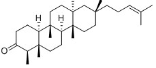 Shionone Chemical Structure