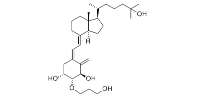Eldecalcitol Chemical Structure