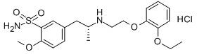 Tamsulosin hydrochloride Chemical Structure