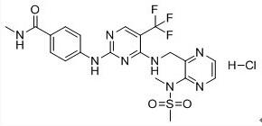 Defactinib Chemical Structure