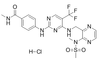 Defactinib hydrochloride Chemical Structure