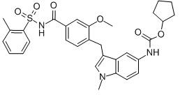 Zafirlukast Chemical Structure