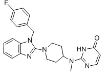 Mizolastine Chemical Structure