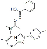Zolpidem Carboxylic Acid Chemical Structure