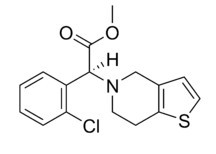 Clopidogrel Chemical Structure