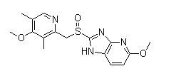 Tenatoprazole 结构式
