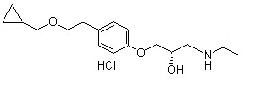 Levobetaxolol hydrochloride Chemical Structure