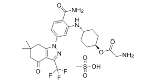 PF-04929113 Mesylate Chemical Structure
