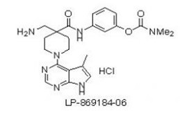 LX7101 Hydrochloride Chemical Structure