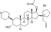 Rocuronium bromide Chemical Structure