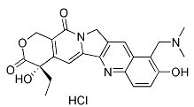 Topotecan HCl Chemical Structure