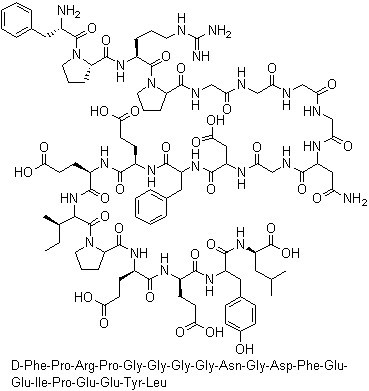 Bivalirudin Chemical Structure