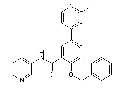 GSK2578215A Chemical Structure