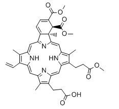 Verteporfin Chemical Structure