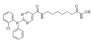 Citarinostat Chemical Structure