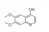 4-Hydroxy-6,7-dimethoxyqunioline Chemical Structure