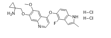 Anlotinib Dihydrochloride Chemical Structure
