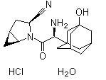 Saxagliptin hydrochloride hydrate Chemical Structure