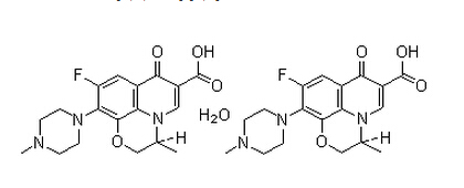 levofloxacin hydrate Chemical Structure
