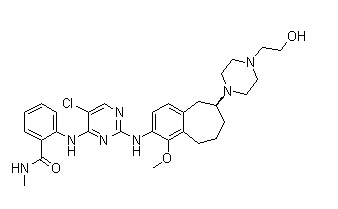 CEP-37440 Chemical Structure