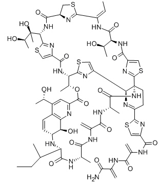 Thiostrepton Chemical Structure