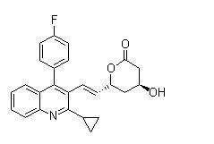 Pitavastatin lactone Chemical Structure