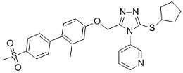 NMS-873 Chemical Structure