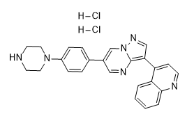 LDN-193189 2HCl Chemical Structure