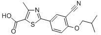 Febuxostat Chemical Structure
