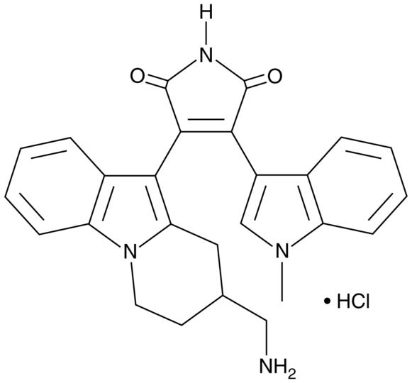 Bisindoylmaleimide X HCl Chemical Structure