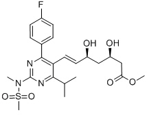 Rosuvastatin methyl ester Chemical Structure