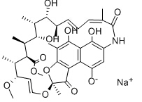 Rifamycin Sodium Chemical Structure