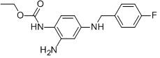Retigabine Chemical Structure