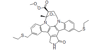 Cep1347 Chemical Structure